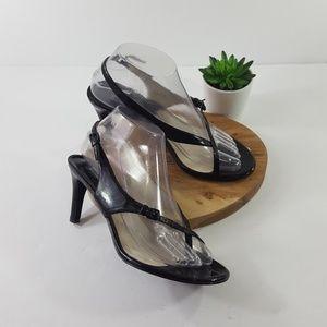 Michael Kors 7.5 Loop Big Toe Sandal Heel